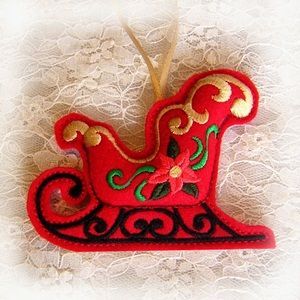 christmasornament9 - Sew-in-the-Hoop Felt Christmas Ornament