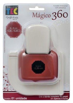 Meu mais novo sonho de consumo! Furador mágico Toke e crie 360º Renda Especial R$110,00 - Quero Muito!!!!