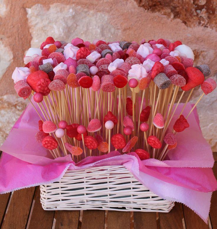 ¿El color de tu evento es el rojo? ¡No te lo pienses más y pon un Candy Bar como este!