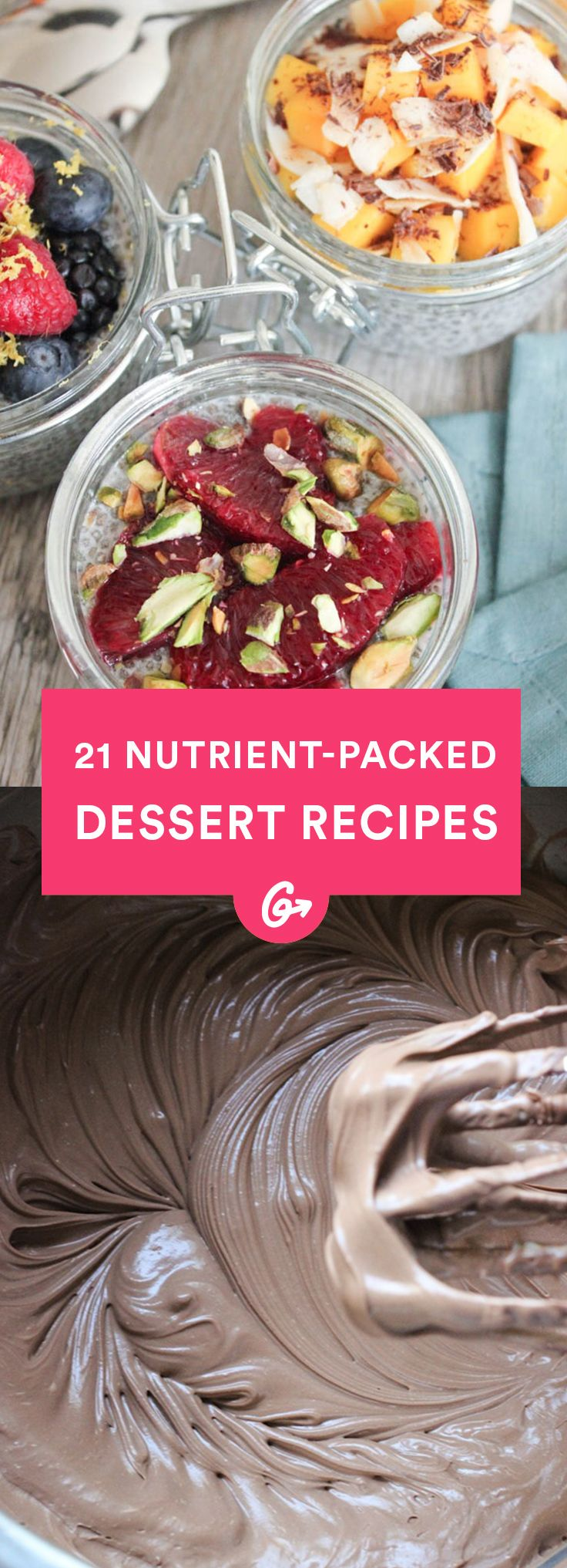 The Best Delicious Desserts Made Healthier From Around the Web #healthy #dessert #recipes http://greatist.com/health/desserts-unexpected-healthy-ingredients