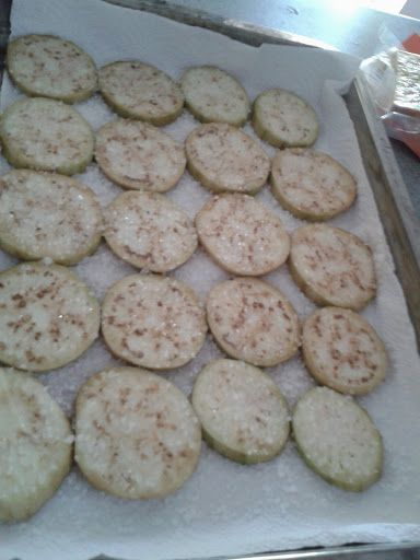 Or aubergine, or brinjal, whatever makes you happier :PI was browsing around for something to do with the remainder of my brinjal's after I used them to make my eggplant lasagna (bobotie), an…