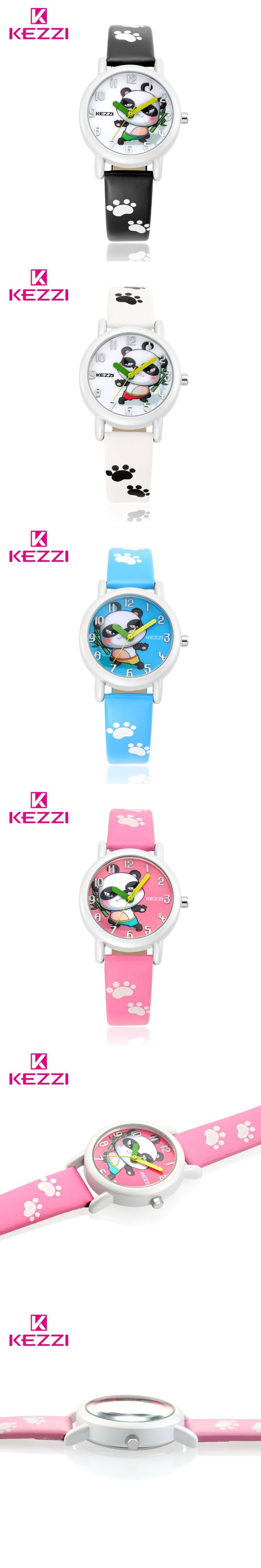 New Arrive In June KEZZI Brand Cartoon Wrist Watches For Kids CHINA Best Friends Chinese National Treasure Lovely Panda Watch