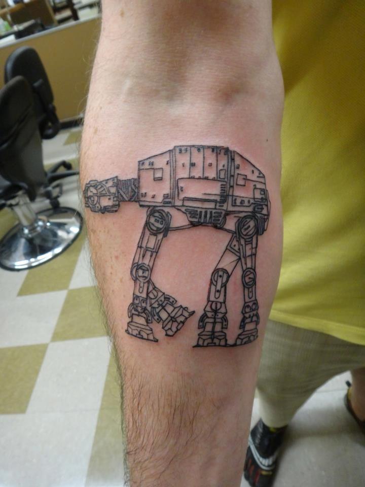 star wars at-at tattoo - Google Search Звездные войны на-на татуировки - Поиск в Google