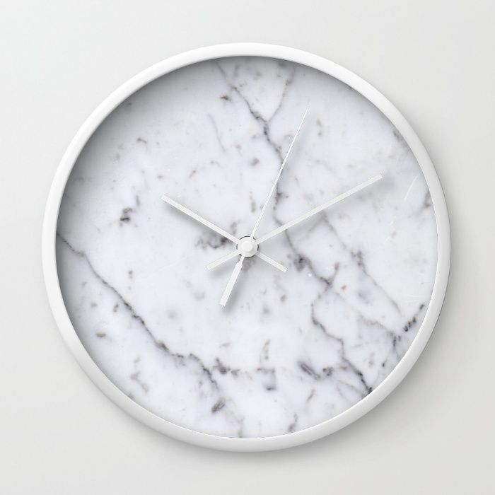 Marble Pattern Wall Clock by Pencil Me In ™