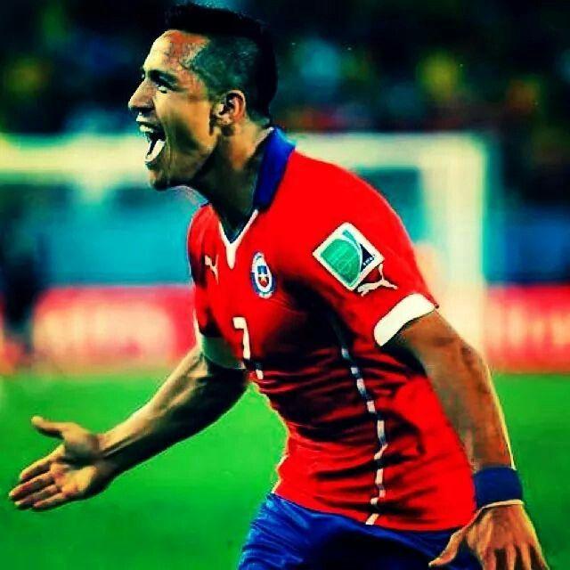 Alexis Sanchez #chile #7