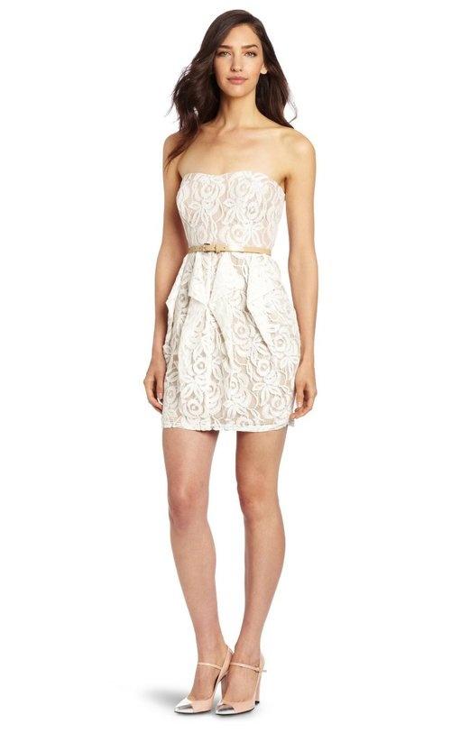 Jessica Simpson Peplum Dress
