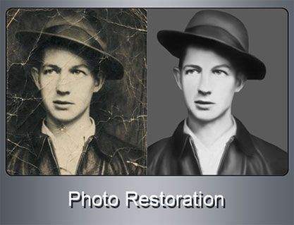 Old photos always have some unforgettable memories attached to them and everyone wants to preserve them for longer time. Photo Editing India's photo restoration and photo retouching services can help you enhance the image and even preserve them forever.   We can convert those old torn, damaged and faded photos into really attractive images by taking all the necessary care. Old images are always precious and that is the reason why we take utmost care while handling them.