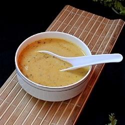 Creamy Carrot Soup by divyapramil