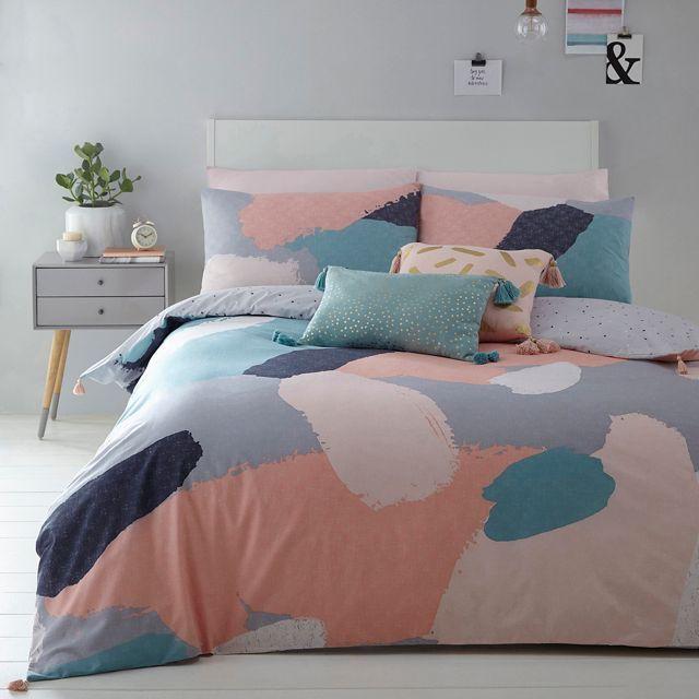 Multicoloured ' Cosmo Alyssa' bedding set
