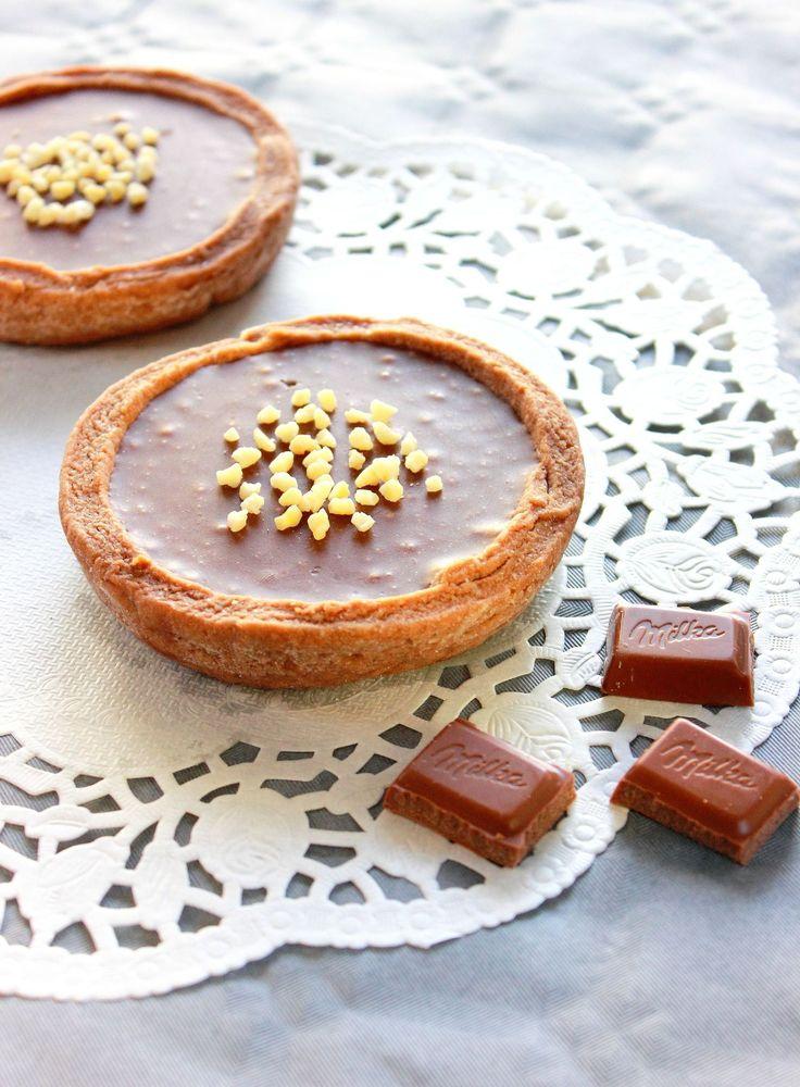Tartelettes au chocolat Milka2