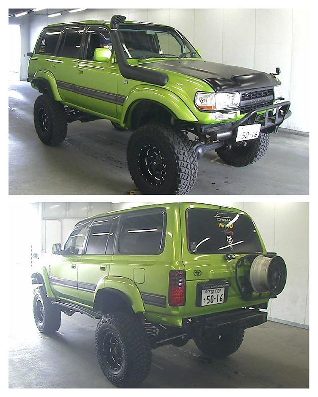 Toyota Land Cruiser 80 hdj81 Любые джипы с аукционов Японии…