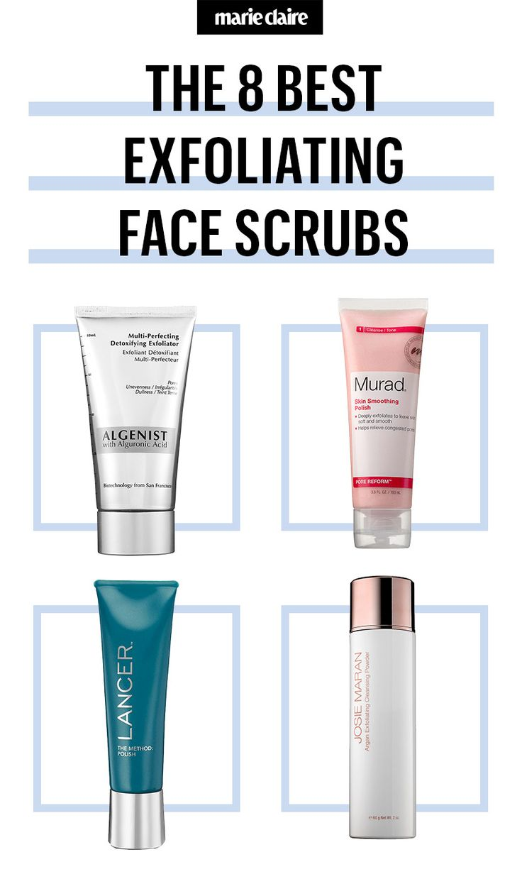 The 8 Best Face Scrubs and Exfoliators Out There