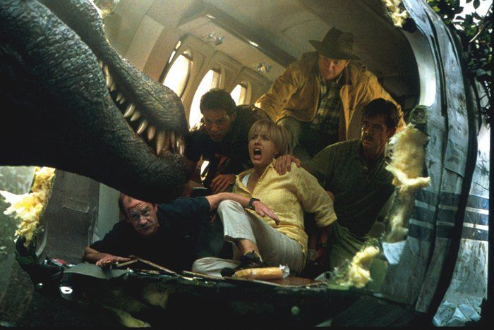 """Парк юрского периода III"" / ""Jurassic Park III"" (реж. Джо Джонстон, США, 2001) #паркюрскогопериода #джонстон #фильм"