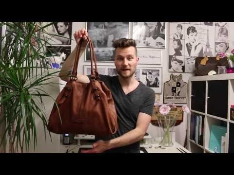 Taschen reinigen mit Sattelseife :: Liebeskind - Priscilla - YouTube