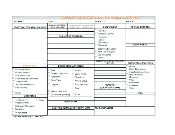 Fresh Weekly Lesson Plan Template Beautiful Of Art Concept