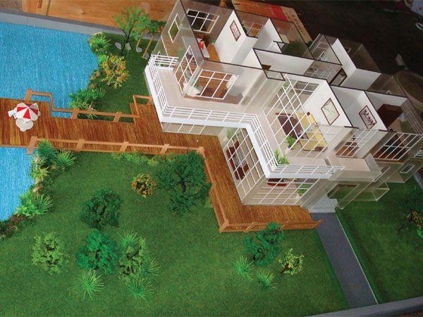 Making model homes
