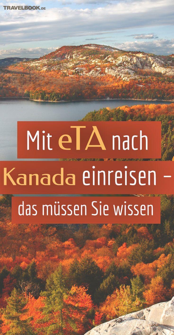 Oh Canada. Träumen Sie von einer Reise ins Land der unendlichen Flüsse und Wälder? Dann haben Sie in Visa-Fragen Glück: Kanada gehört zu den Staaten, in die Deutsche bzw. EU-Bürger ohne ein Visum einreisen dürfen. Sie brauchen lediglich die Electronic Travel Authorization (eTA). Hier erfahren Sie, wie Sie die eTA bekommen und was Sie darüber wissen müssen. #canadatravel