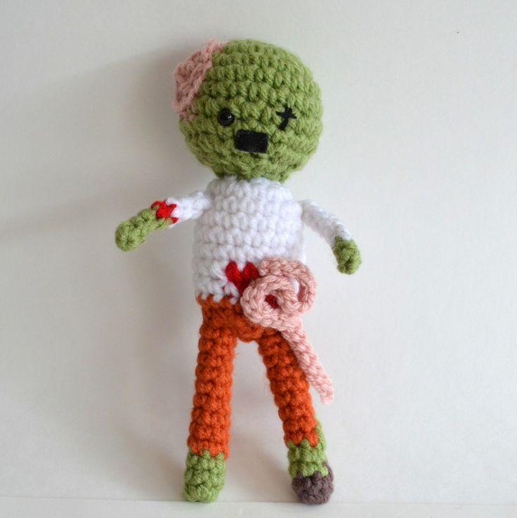 Crochet Zombie Patterns : Amigurumi Zombie Pattern MAKE: Craft