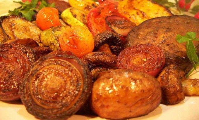 Grilovaná zelenina v pikantní marinádě | NejRecept.cz