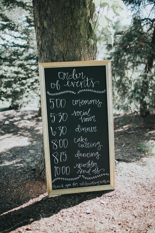 25 Parasta Ideaa Pinterestissa Reception Order Of Events