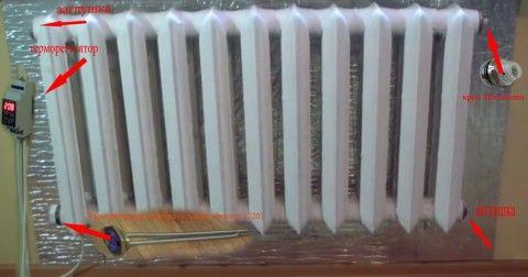 Автономное отопление без труб своими руками