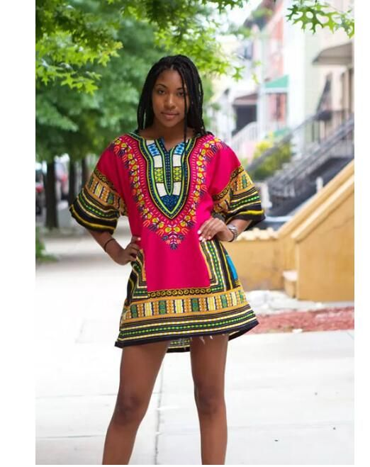 Traditional african clothing 100% cotton Mens african clothing Robe africaine femme