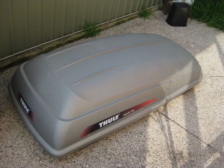Thule Car Roof Box Pod Luggage Carrier Polar 200 Thule