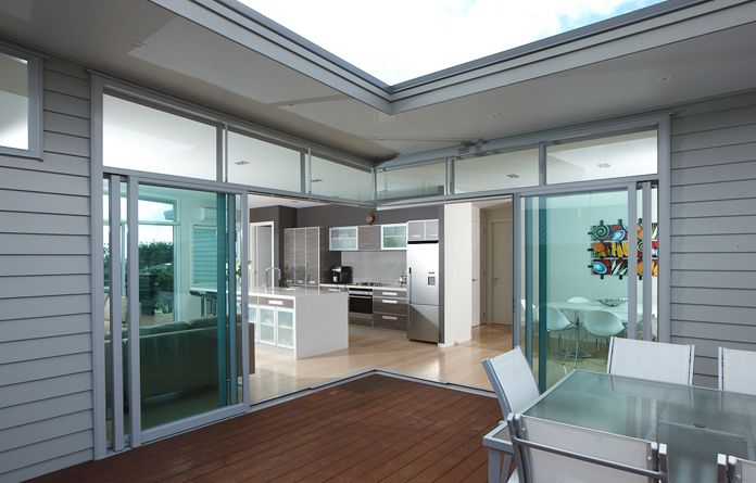 The Eurostacker® sliding door is the ultimate in discreet home styling, Pacific Suite