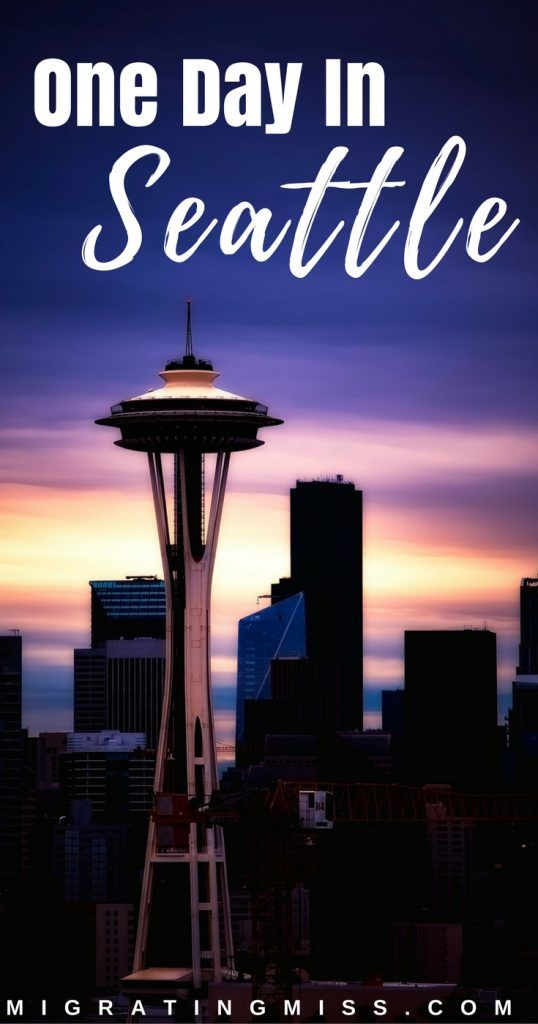 City Guide to One Day in Seattle + Map - What to do in Seattle when you only have one day! #seattle #usa #travel