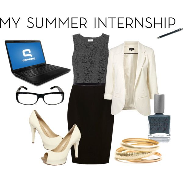 """""""Summer Internship Business Outfit"""" by phil1v21 on Polyvore"""