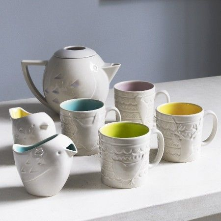 Woodlands tea set ! Cute !