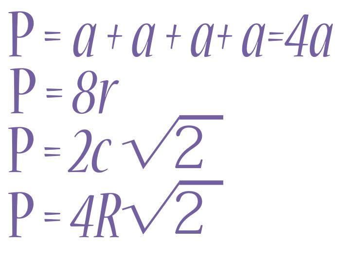 Периметр квадрата