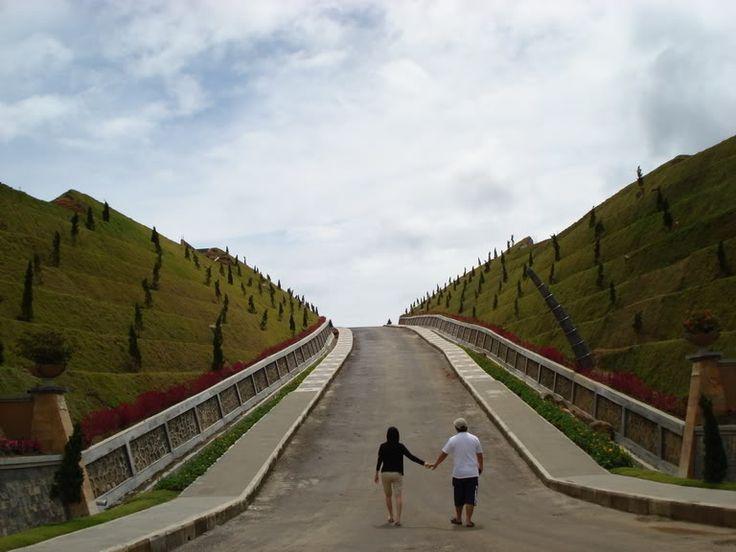 Taman Simalem Resort di Danau Toba, Medan