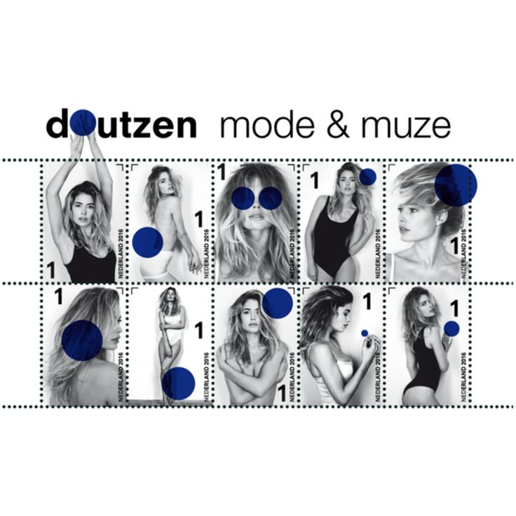 Tomorrow, September 12th, Dutch postal company, PostNL is releasing a sheet of stamps featuring ten photo's of the famous Dutch model, Doutzen Kroes. Renowned photographer Anton Corbijn shot the images especially for the 'doutzen, mode and muze' stamps. http://www.missfashionnews.com/doutzen-kroes-postnl-stamps/