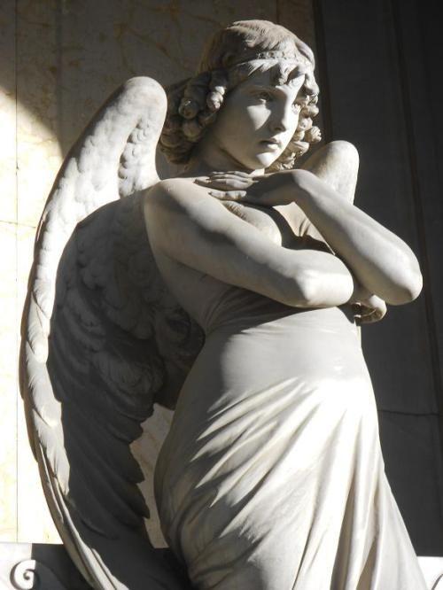 L'Angelo di Monteverde, elogio della bellezza  Angelo della Morte, Arte, Cimitero Monumentale di Staglieno