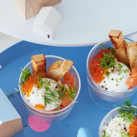 Rezept: Frühstückseier im Glas