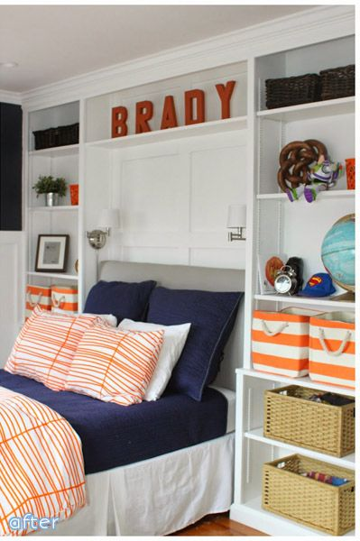 Best 25 navy orange bedroom ideas on pinterest shiplap headboard blue orange rooms and - Ikea boys bedroom ideas ...