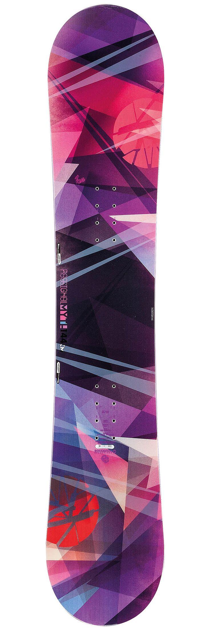 #Rossignol Myth : achat snowboard femme women chez Glisshop.com