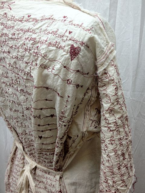 red thread poetry dress by ruthrae