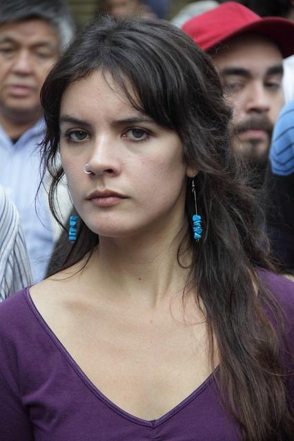 Camila Vallejo (9) by magoexperto, via Flickr
