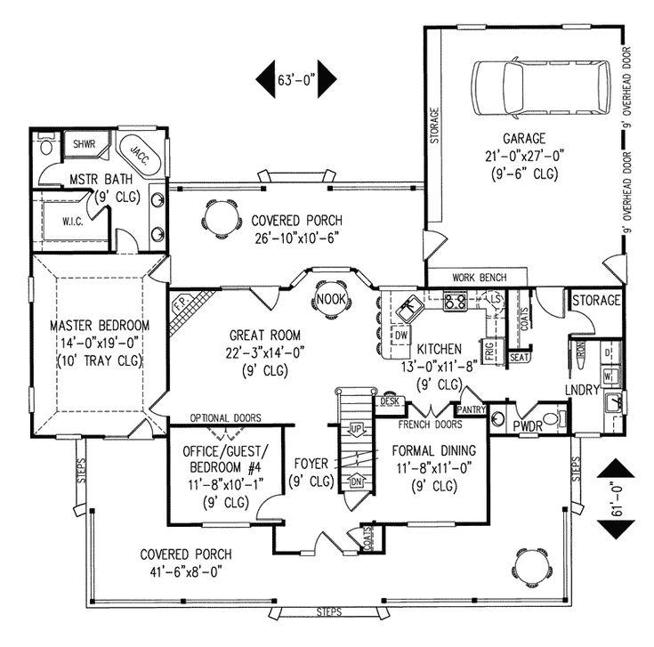 Amish Hill Country Farmhouse House Plans Farmhouse