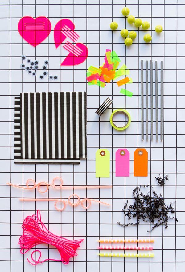 Party Idea: Neon Grid | Oh Happy Day!