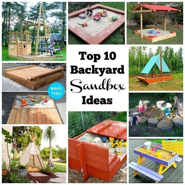 Backyard Sandboxes Are Amazing Outdoor Sensory Play Spaces You