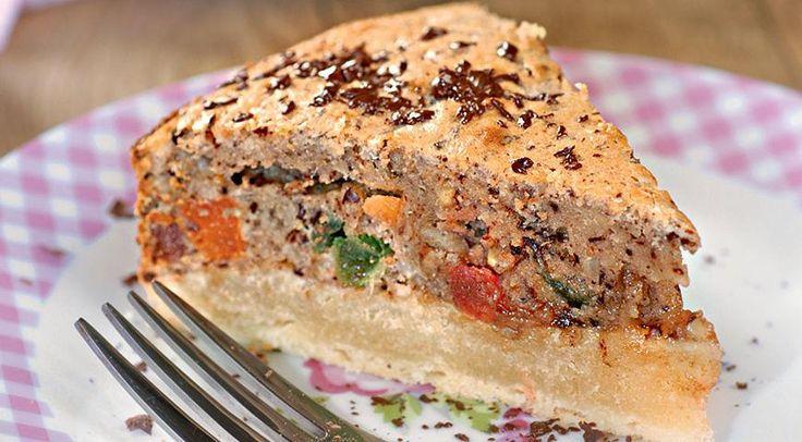 Итальянский ореховый пирог