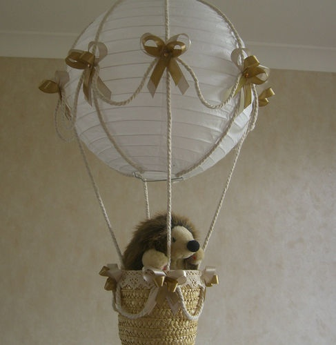 Childrens Wall Lamp Shades : This would be great for the kids room and a bigger basket with more stuffed toys in it My Baby ...