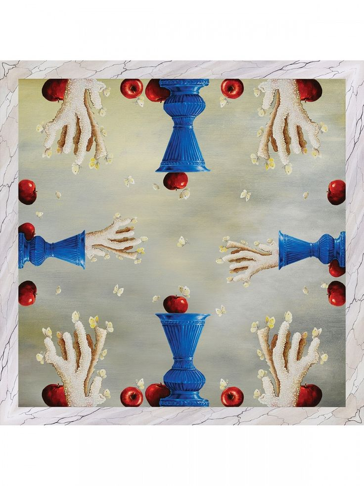 Tentation Scarf – Hamid Nicola Katrib