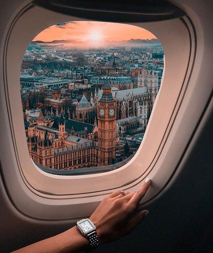 Ansicht von London! #weheartit #foundonweheartit #travel #london #plane #flying