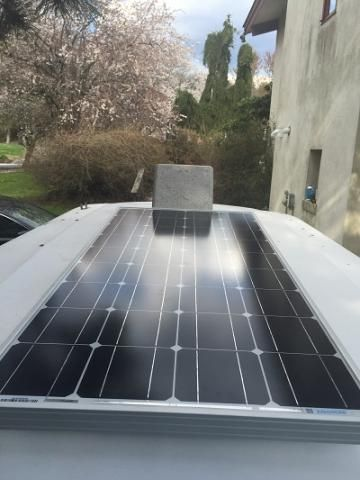 Solar panels! scamp makeover | Scamp Owners International                                                                                                                                                                                 More