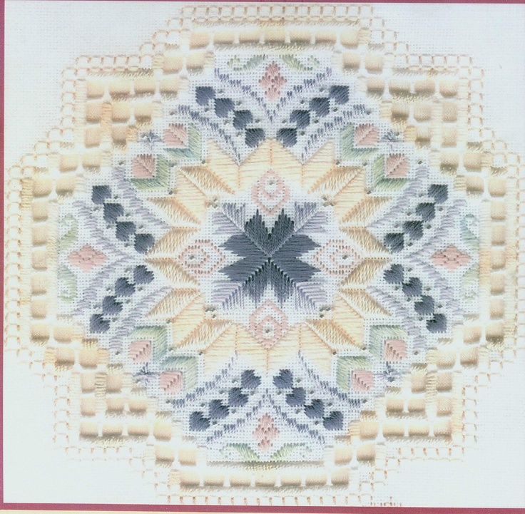 Daydreams by Judy Dixon Hardanger Specialty Stitches