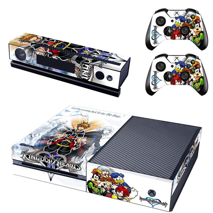 Kingdom hearts xbox one skin for console and controllers